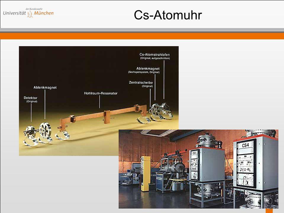 14 Cs-Atomuhr