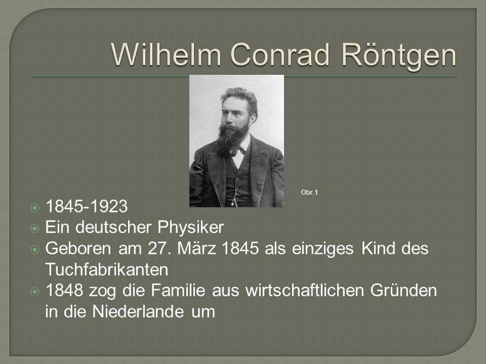  1861-1863 besuchte er die Technische Schule, aus disziplinarischen Gründen verlieβ er die Schule ohne Abitur  1805-1808 nach einer bestandenen Aufnahmeprüfung studierte er am Polytechnikum in Zürich (ohne Abi)  1869 an der Uni in Zürich promovierte er in Physik Obr.