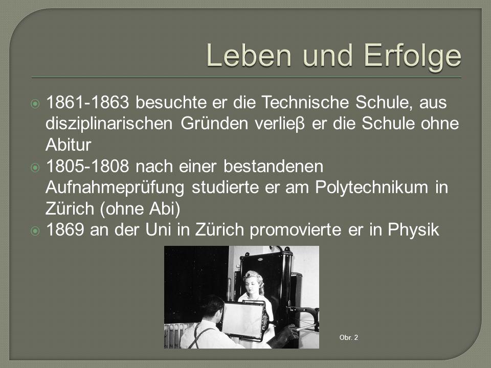  1872 heiratete er  1879 wurde er ordentlicher Professor (in Giessen) erhielt zum ersten Mal ein festes Gehalt  1888 wurde er nach Würzburg berufen  Er beschäftigte sich mit der Untersuchung der Eigenschaften des Quarzes und der Verdichtbarkeit von Flussigkeiten Obr.3