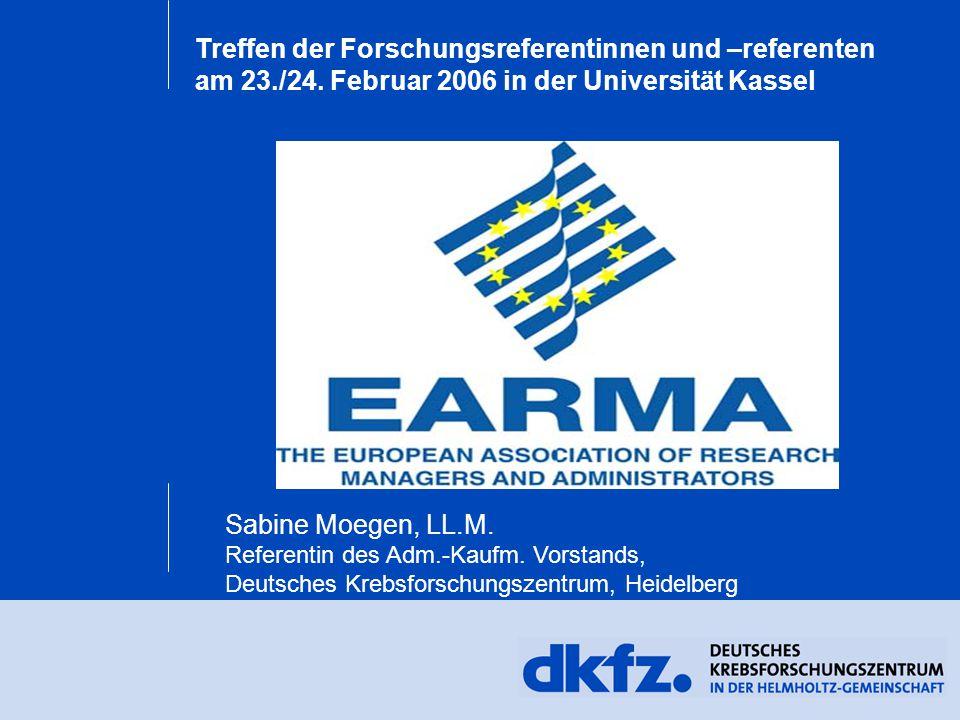 Treffen der Forschungsreferentinnen und –referenten am 23./24.