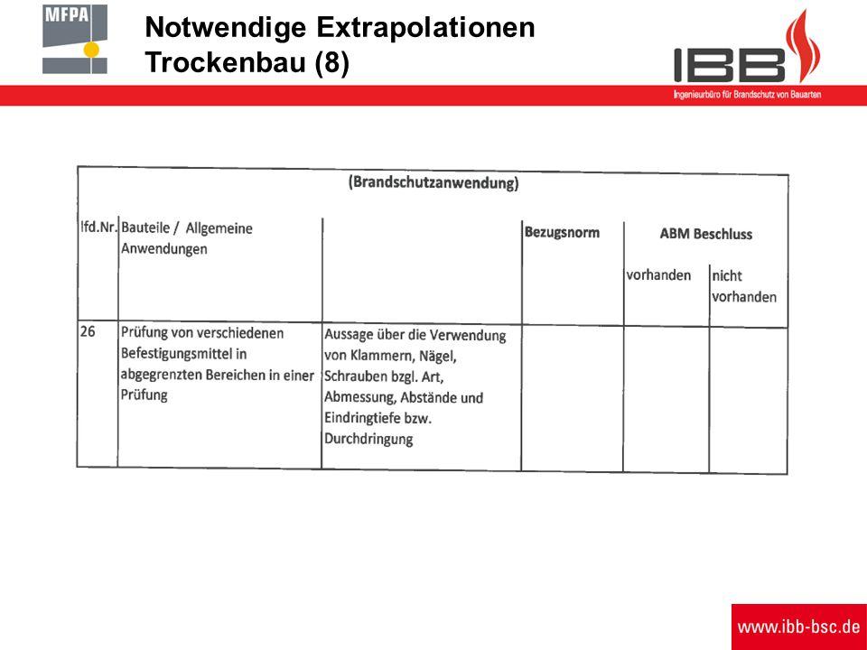 Notwendige Extrapolationen Trockenbau (8)