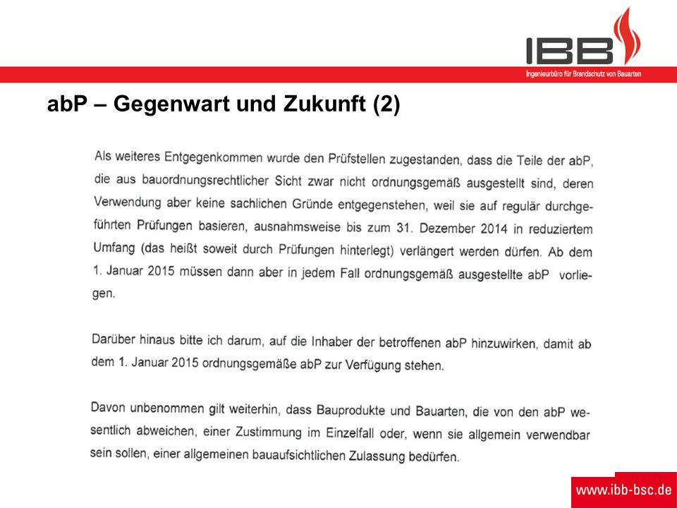 abP – Gegenwart und Zukunft (2)
