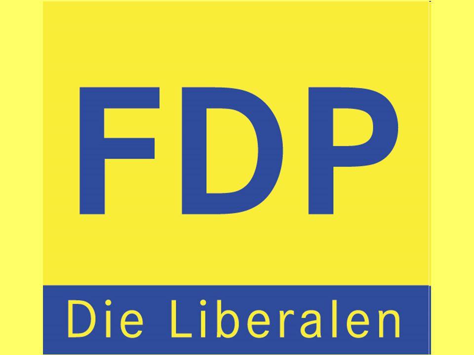 1.Politische Grundsätze/ Weltanschauung Vertritt liberale (vom lat.