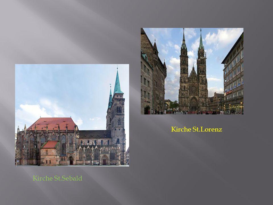 Kirche St.Sebald Kirche St.Lorenz