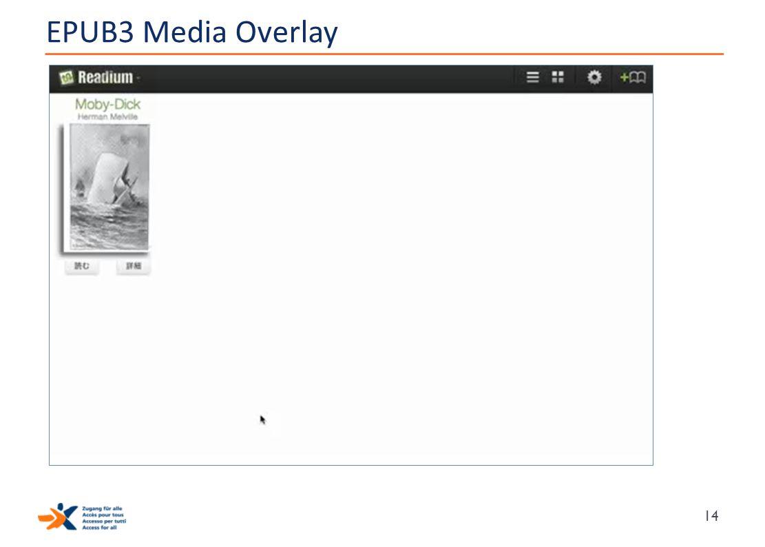 EPUB3 Media Overlay 14
