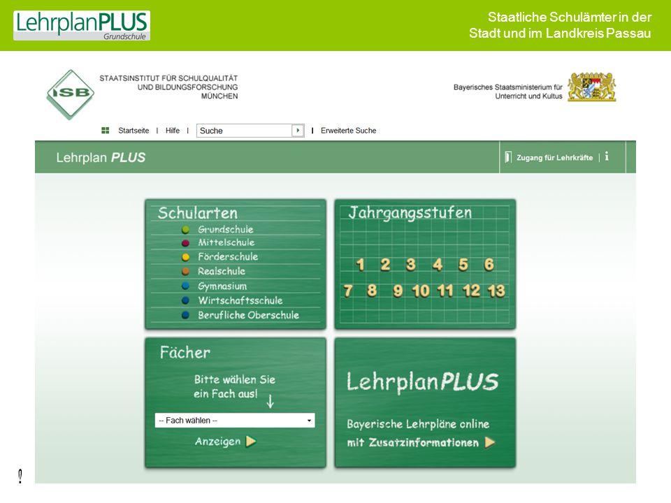 Staatliche Schulämter in der Stadt und im Landkreis Passau