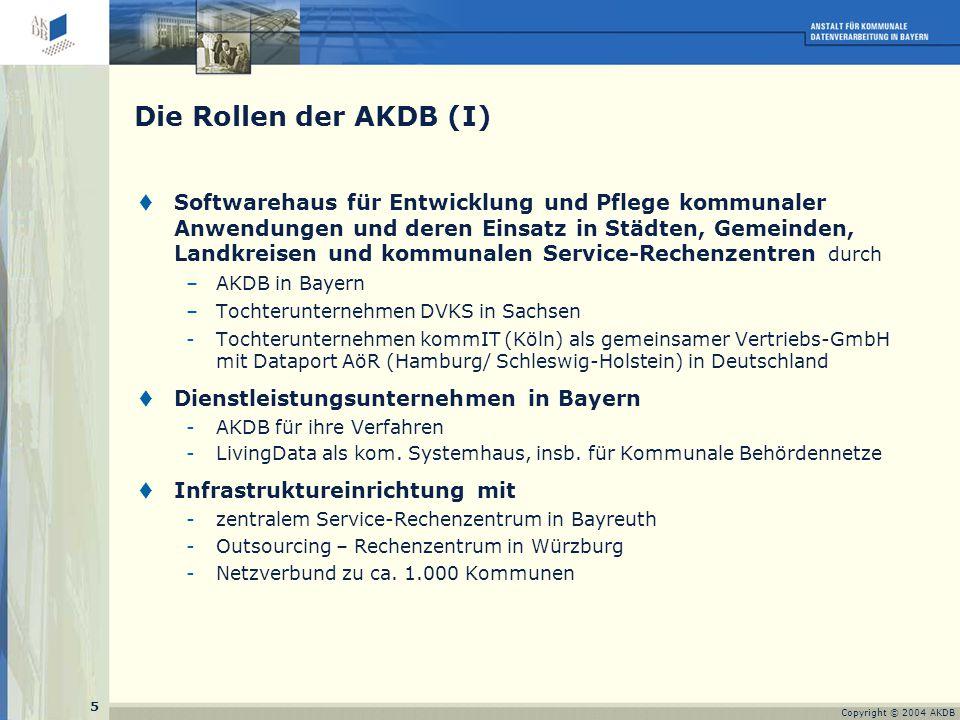 26 Copyright © 2004 AKDB und Fazit