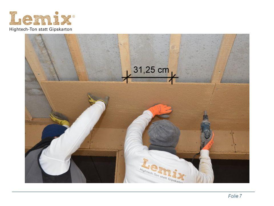 Folie 8 Befestigungsmaterial Korrosionsgeschützte Schrauben Breitrücken-Klammern Halteteller
