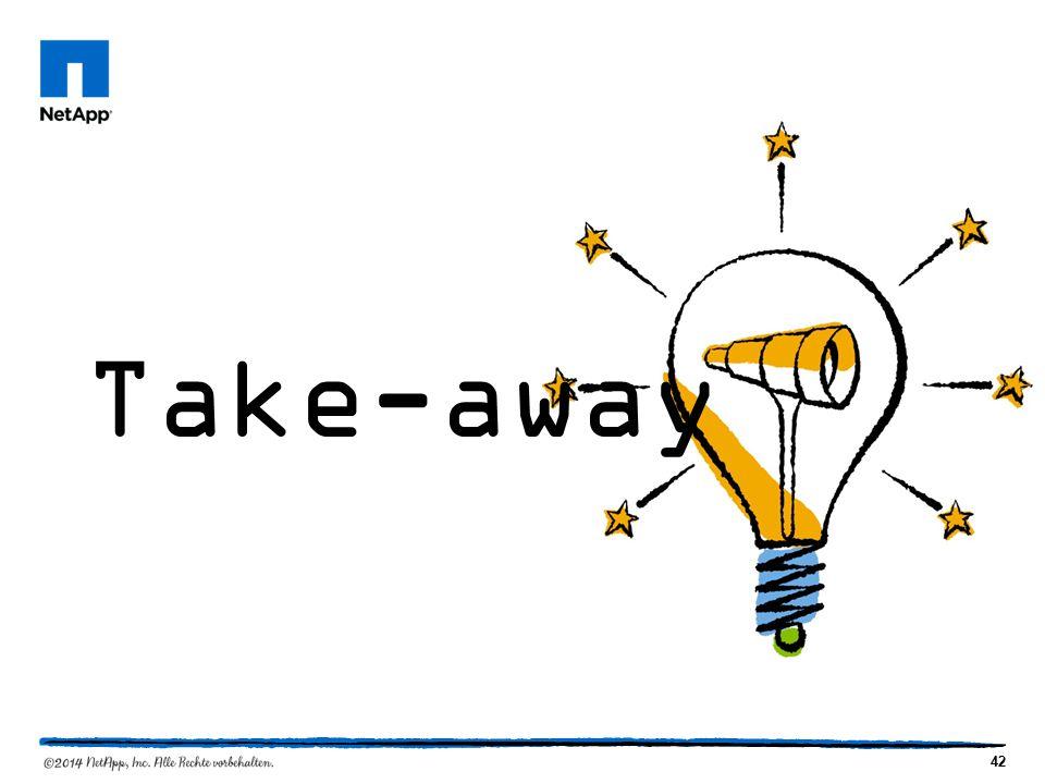 42 Take-away