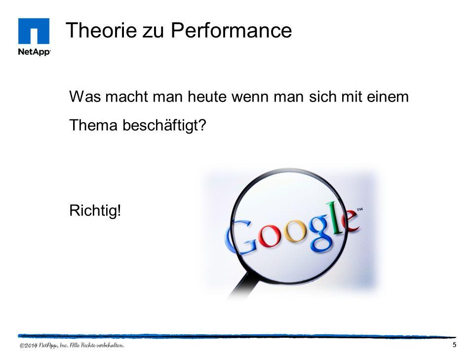 5 Theorie zu Performance Was macht man heute wenn man sich mit einem Thema beschäftigt Richtig!