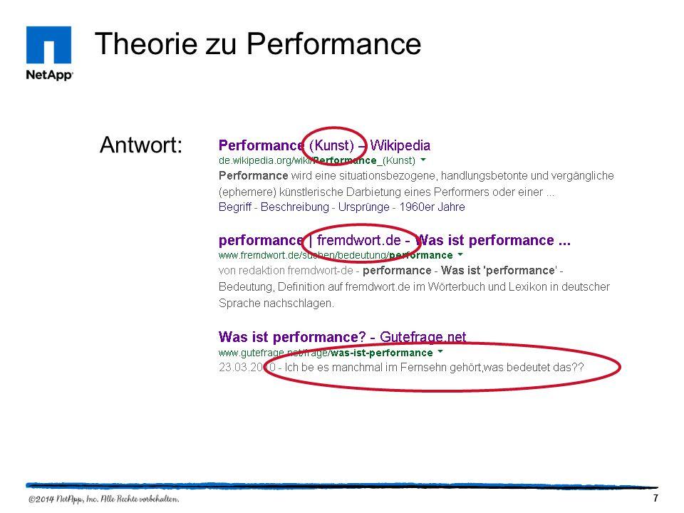 7 Theorie zu Performance Antwort: