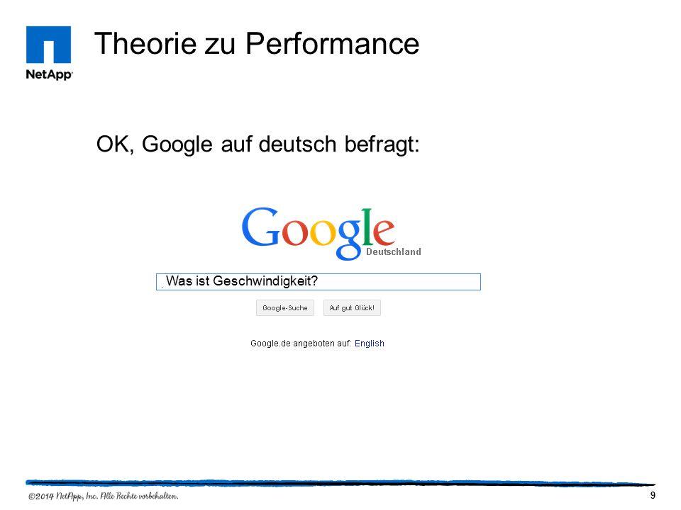 9 OK, Google auf deutsch befragt: Was ist Geschwindigkeit