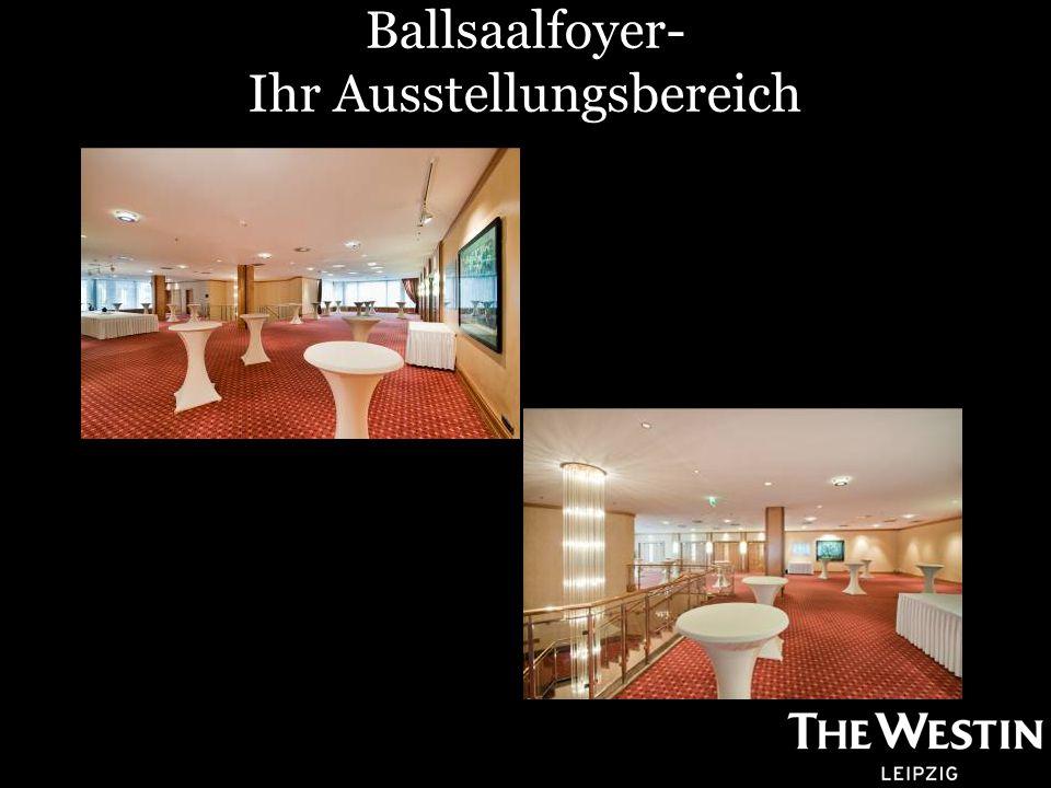 Ballsaalfoyer- Ihr Ausstellungsbereich