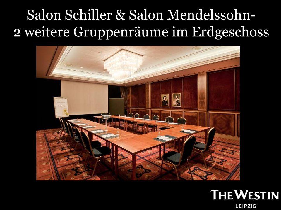 Salon Schiller & Salon Mendelssohn- 2 weitere Gruppenräume im Erdgeschoss