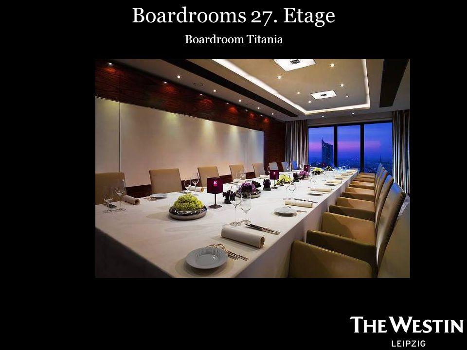Boardrooms 27. Etage Boardroom Titania