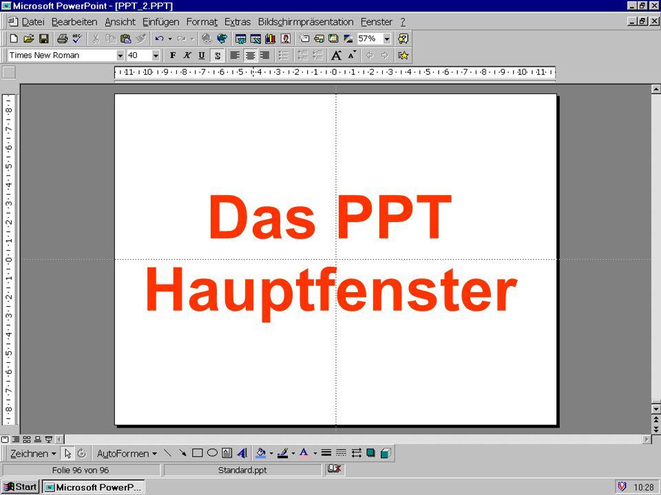 Ansicht Gliederung Gliederungsansicht ein-/ausschalten: klicken Sie auf das Symbol Gliederung in PowerPoint bequem zu erstellen Schnelle Erfassung von Texten alle Textinformationen der Präsentation auf einen Blick J.