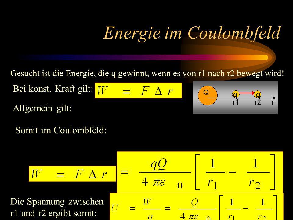 Coulombkraft - Gravitationskraft Linearität zu LadungenLineariät zu Massen 1/r² - Abhängigkeit Coulombkraft zwischen 2 Elektronen: Gravitation zwische