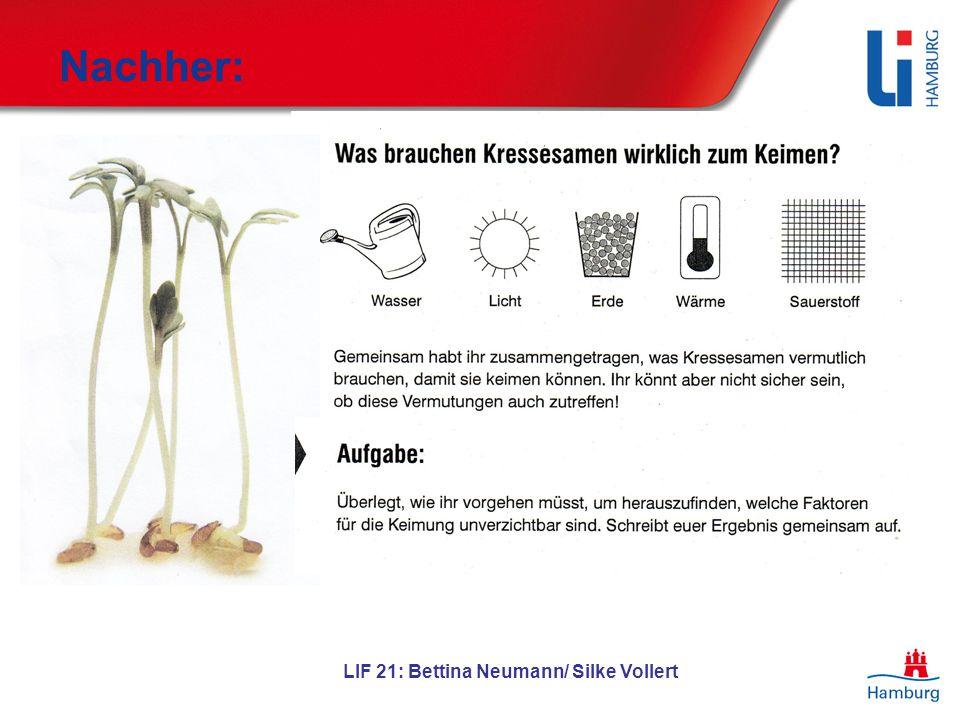 LIF 21: Bettina Neumann/ Silke Vollert Nachher: