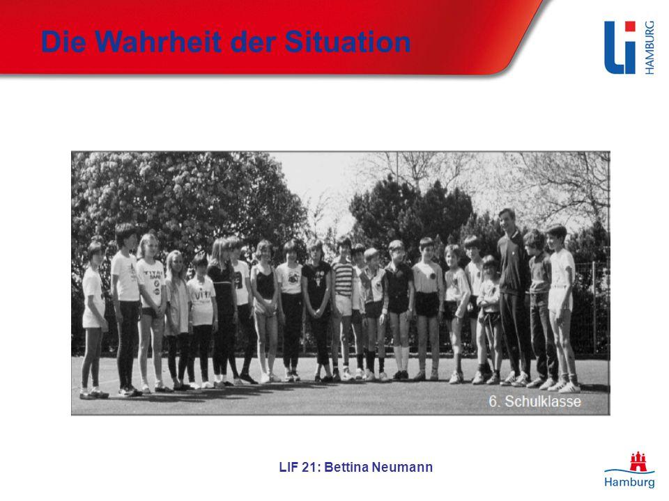 LIF 21: Bettina Neumann Die Wahrheit der Situation