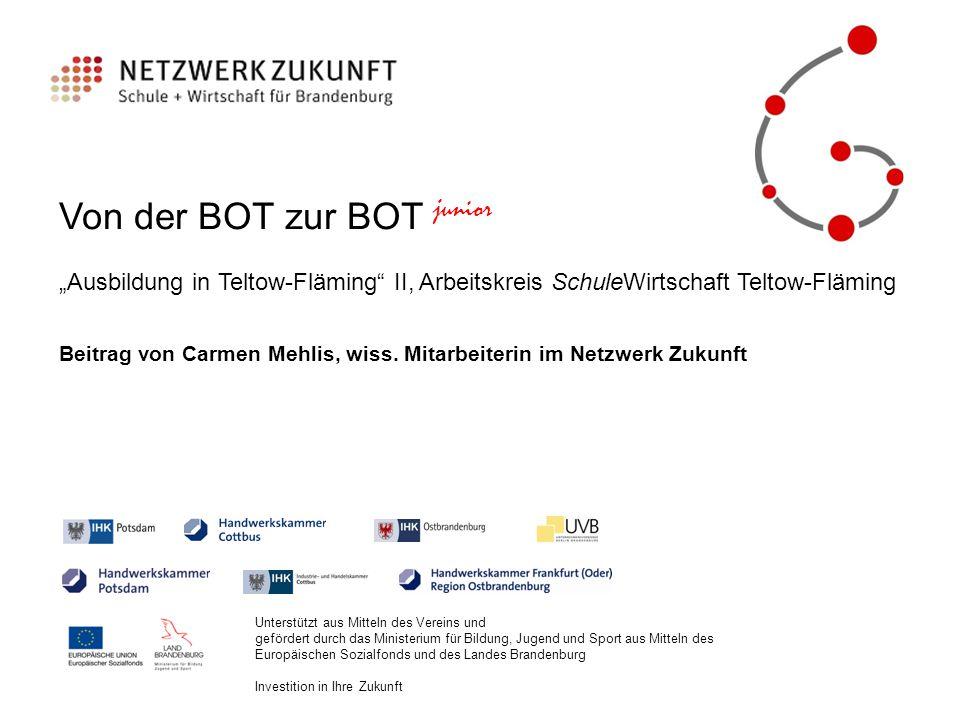 """BOT junior """"Ausbildung in TF II Station 1:Schaeffler Technologies AG & Co."""