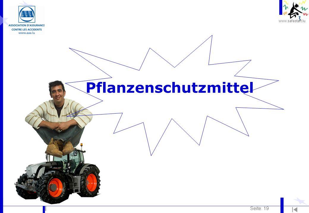 www.safestart.lu Seite: 19 Pflanzenschutzmittel