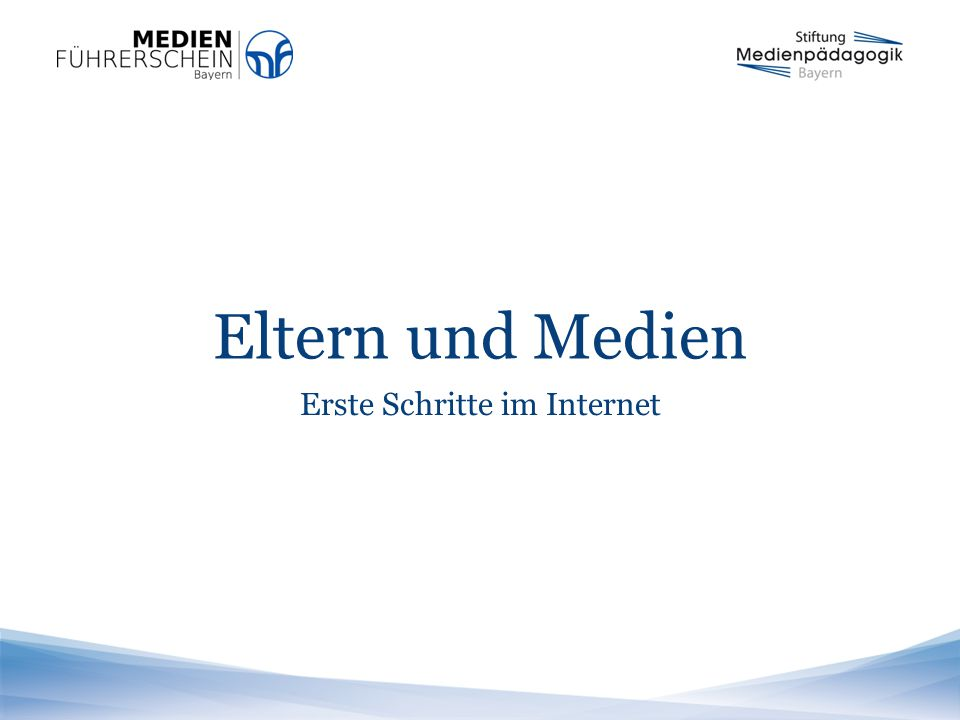 Seite 2   Stiftung Medienpädagogik Bayern31. März 2015 Der Medienführerschein Bayern