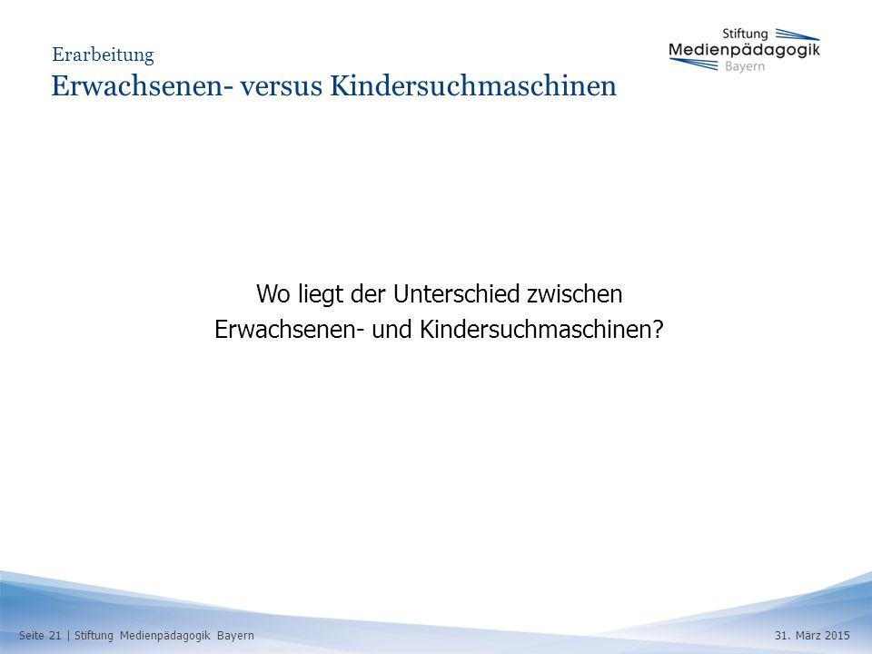 Seite 21 | Stiftung Medienpädagogik Bayern31.
