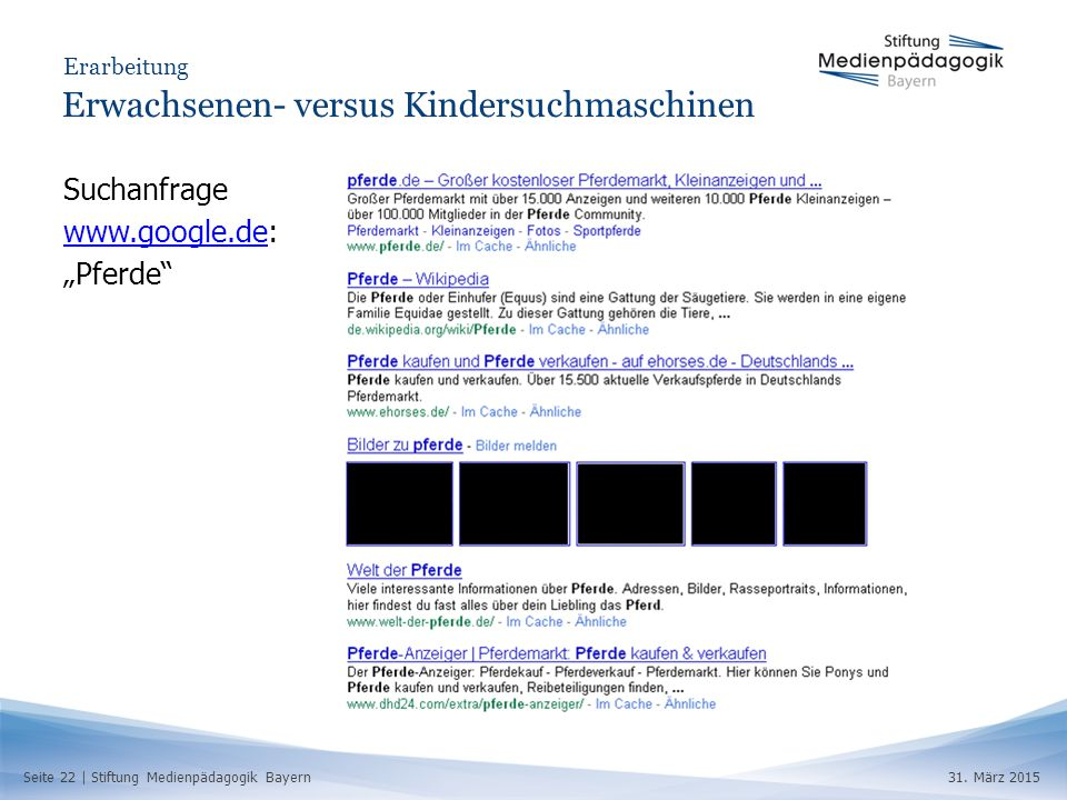 Seite 22 | Stiftung Medienpädagogik Bayern31.