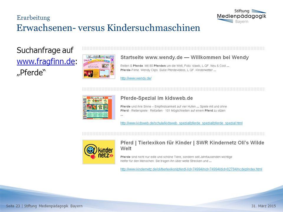 Seite 23 | Stiftung Medienpädagogik Bayern31.