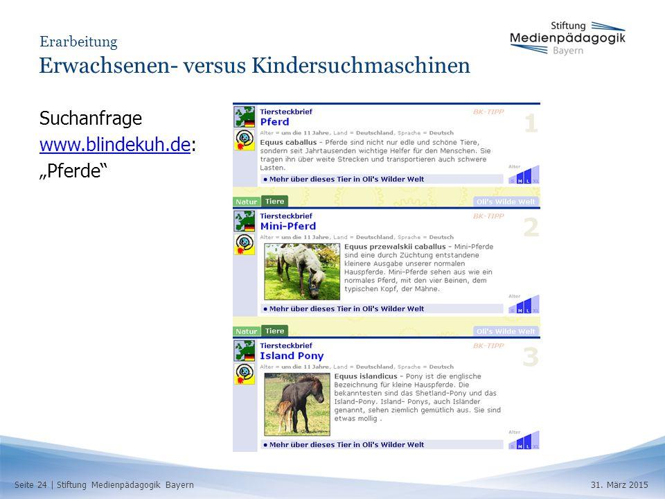 Seite 24 | Stiftung Medienpädagogik Bayern31.