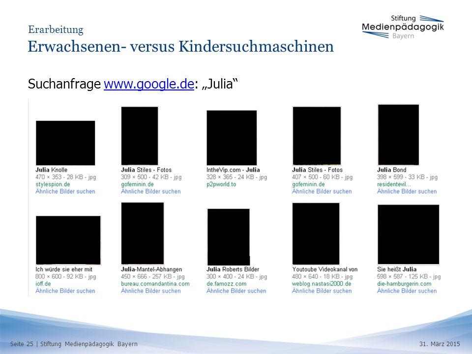 Seite 25 | Stiftung Medienpädagogik Bayern31.