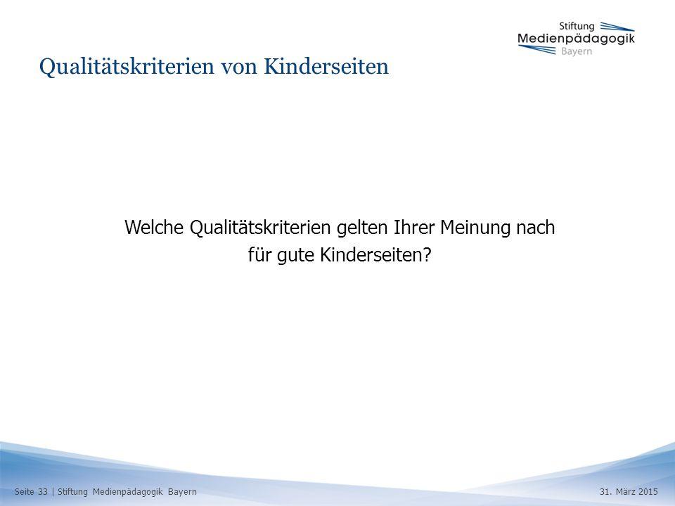 Seite 33 | Stiftung Medienpädagogik Bayern31.
