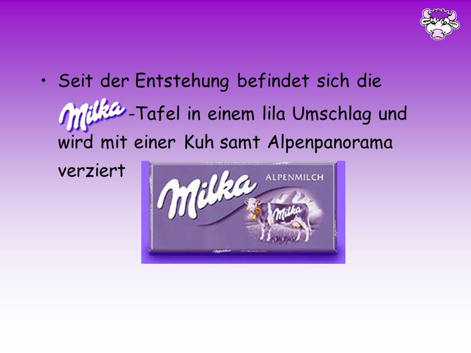 In den 1890er Jahren wird die Suchard- Milchschokolade vorgestellt Elf Jahre später erblickt die