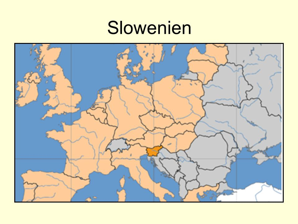 Slowenien erkennt man an