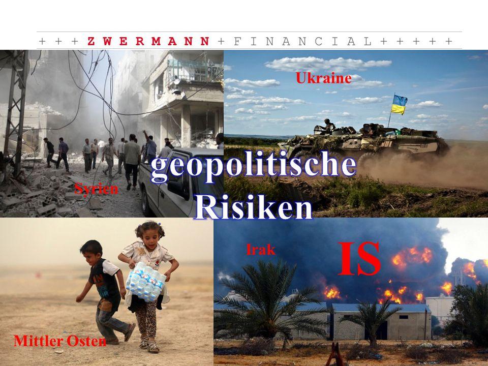 Mittler Osten Ukraine Syrien Irak IS
