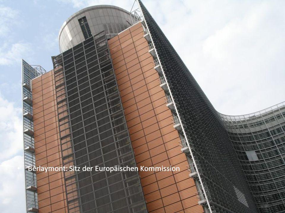 34 Berlaymont: Sitz der Europäischen Kommission