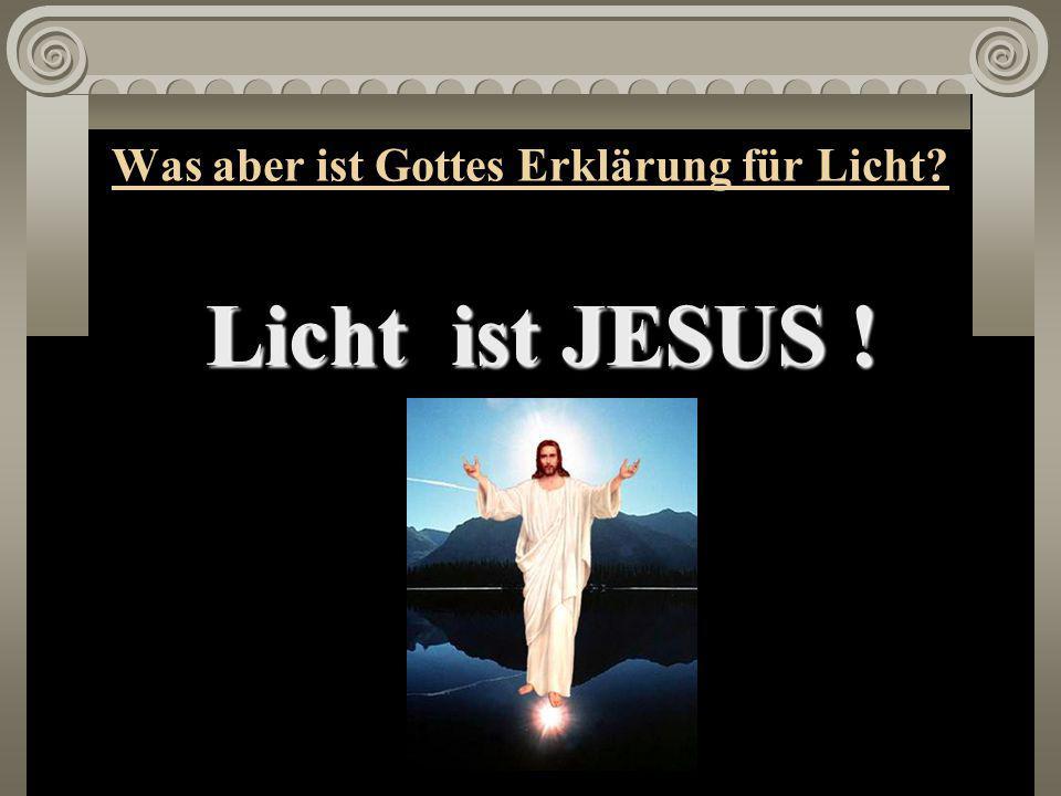 """Wir lesen Johannes 9, 5: """"Solange ich in der Welt bin, bin ich das Licht der Welt"""