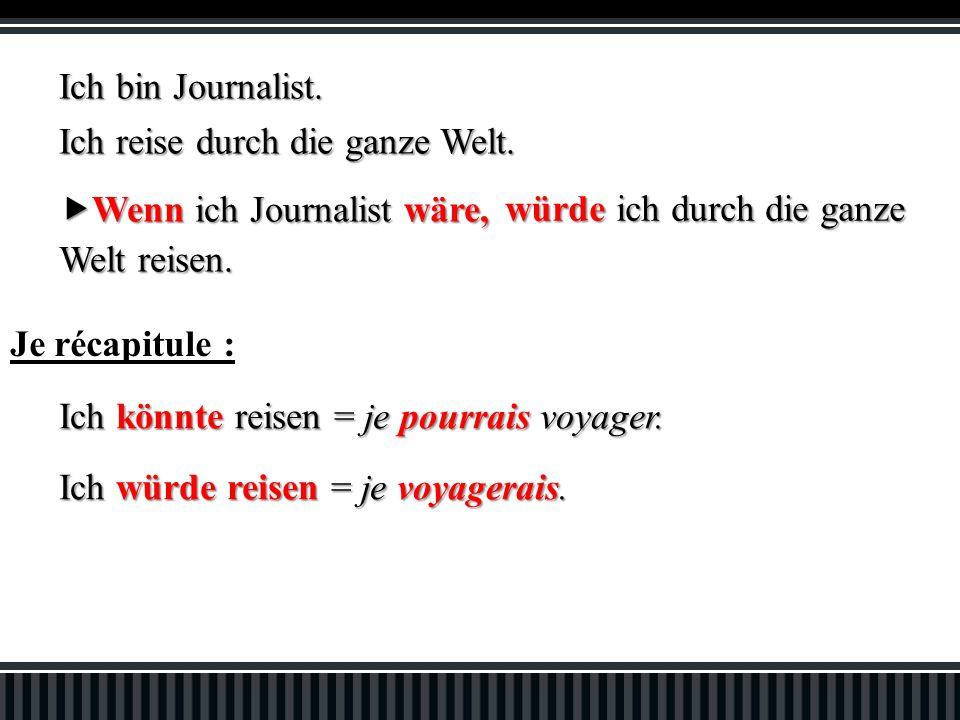 Ich bin Journalist. Ich reise durch die ganze Welt.