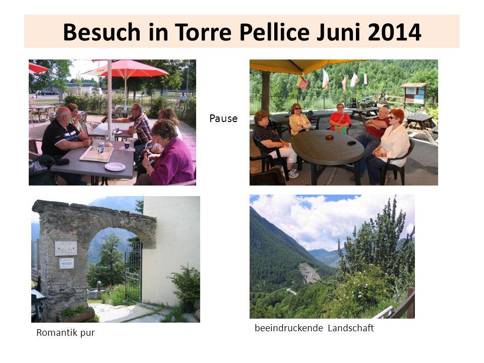 Besuch in Torre Pellice Juni 2014 Pause Romantik pur beeindruckende Landschaft