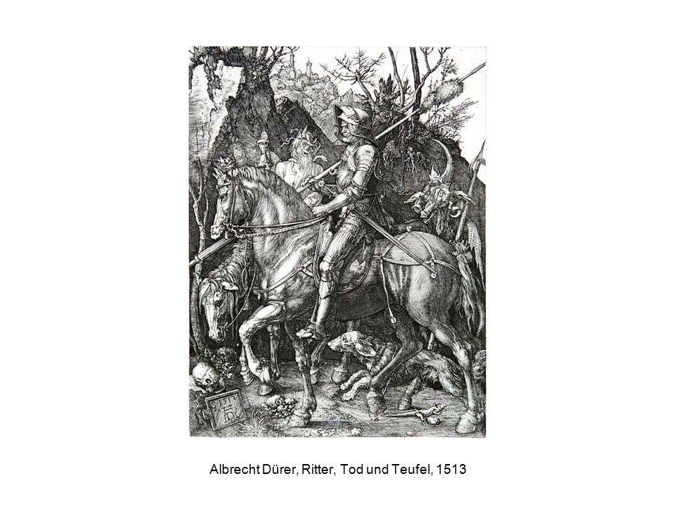 Albrecht Dürer, Ritter, Tod und Teufel, 1513