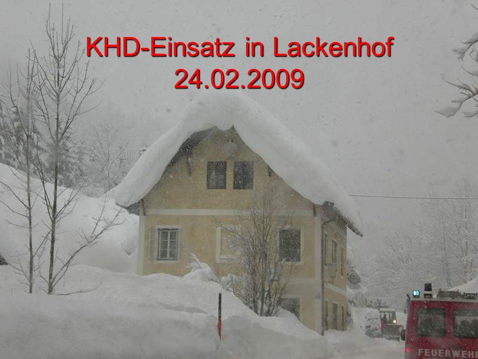 KHD-Einsatz in Lackenhof 24.02.2009