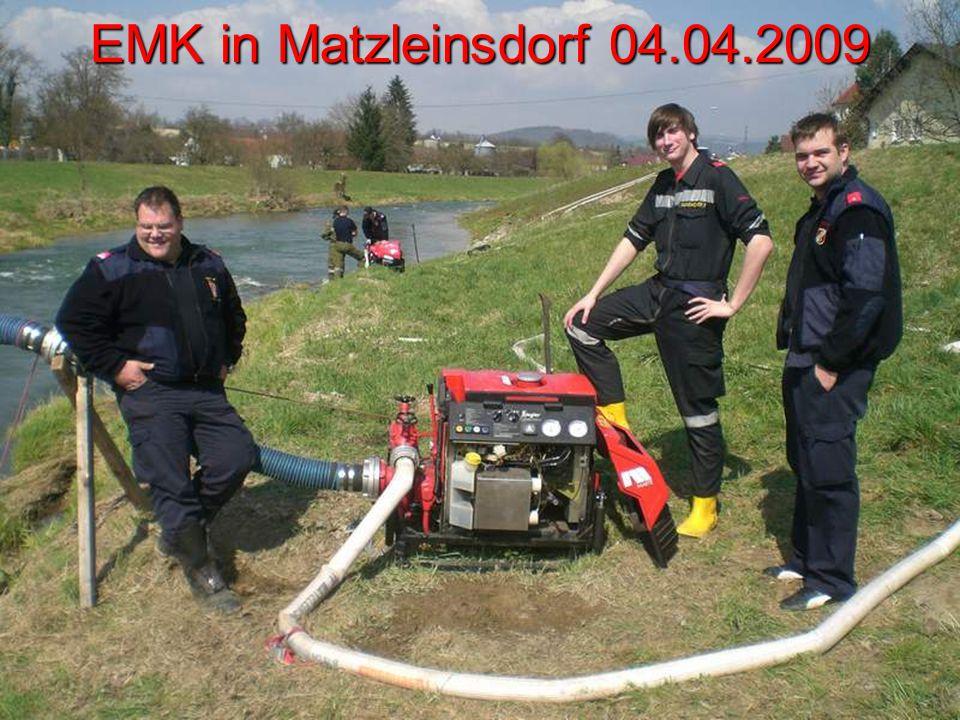 EMK in Matzleinsdorf 04.04.2009