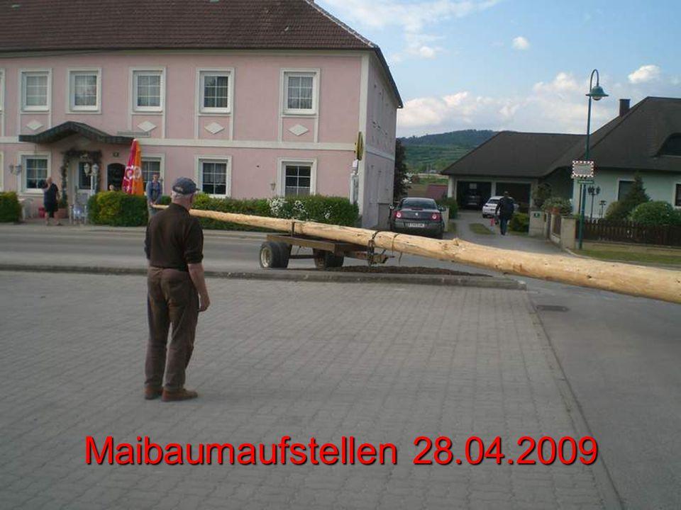 Maibaumaufstellen 28.04.2009
