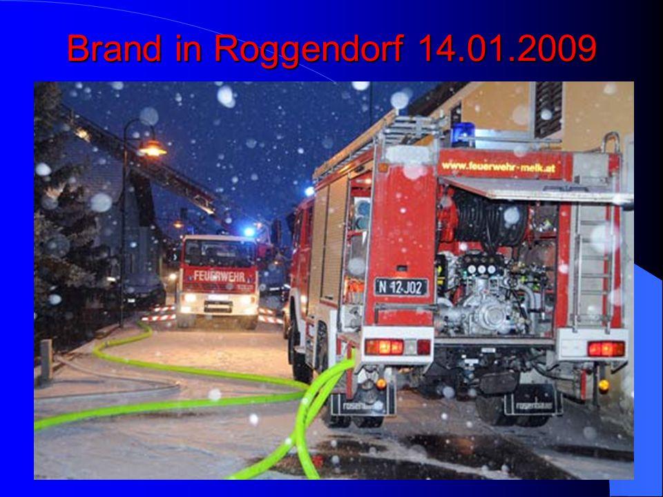 Brand in Roggendorf 14.01.2009
