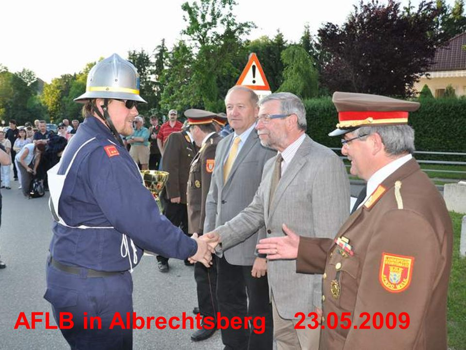 AFLB in Albrechtsberg23.05.2009