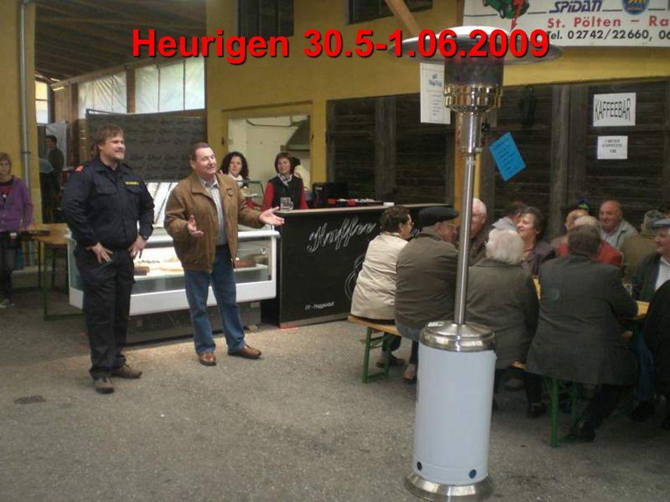 Heurigen 30.5-1.06.2009