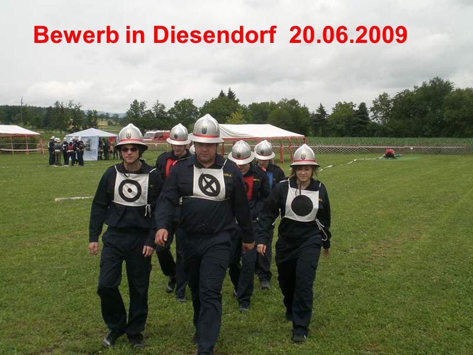Bewerb in Diesendorf 20.06.2009