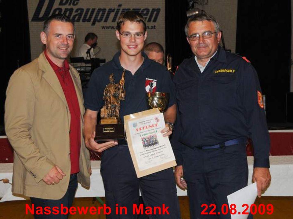 Nassbewerb in Mank22.08.2009