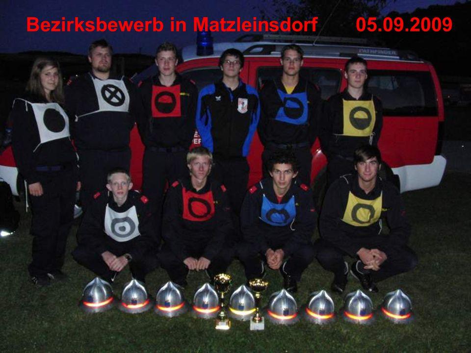 Bezirksbewerb in Matzleinsdorf05.09.2009