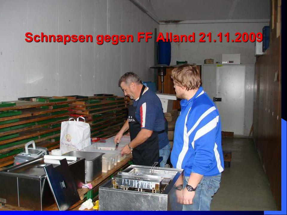 Schnapsen gegen FF Alland 21.11.2009